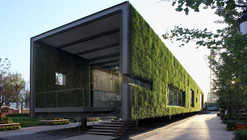 CR Land Guanganmen Green Technology Showroom / Vector Architects