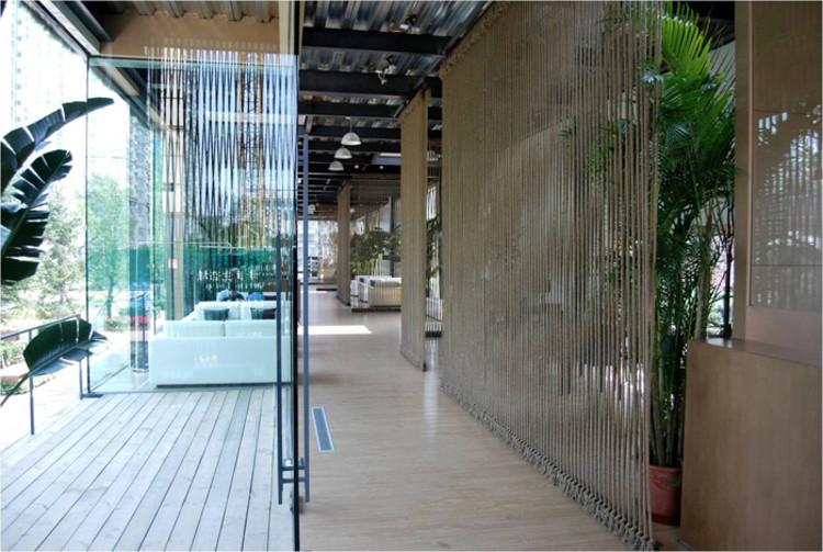 Cr Land Guanganmen Green Technology Showroom Vector