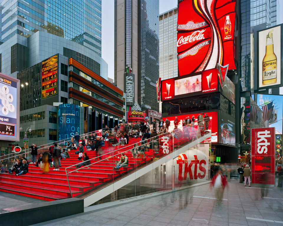 Traffic Ticket Nyc >> TKTS Booth / Perkins Eastman + Choi Ropiha | ArchDaily