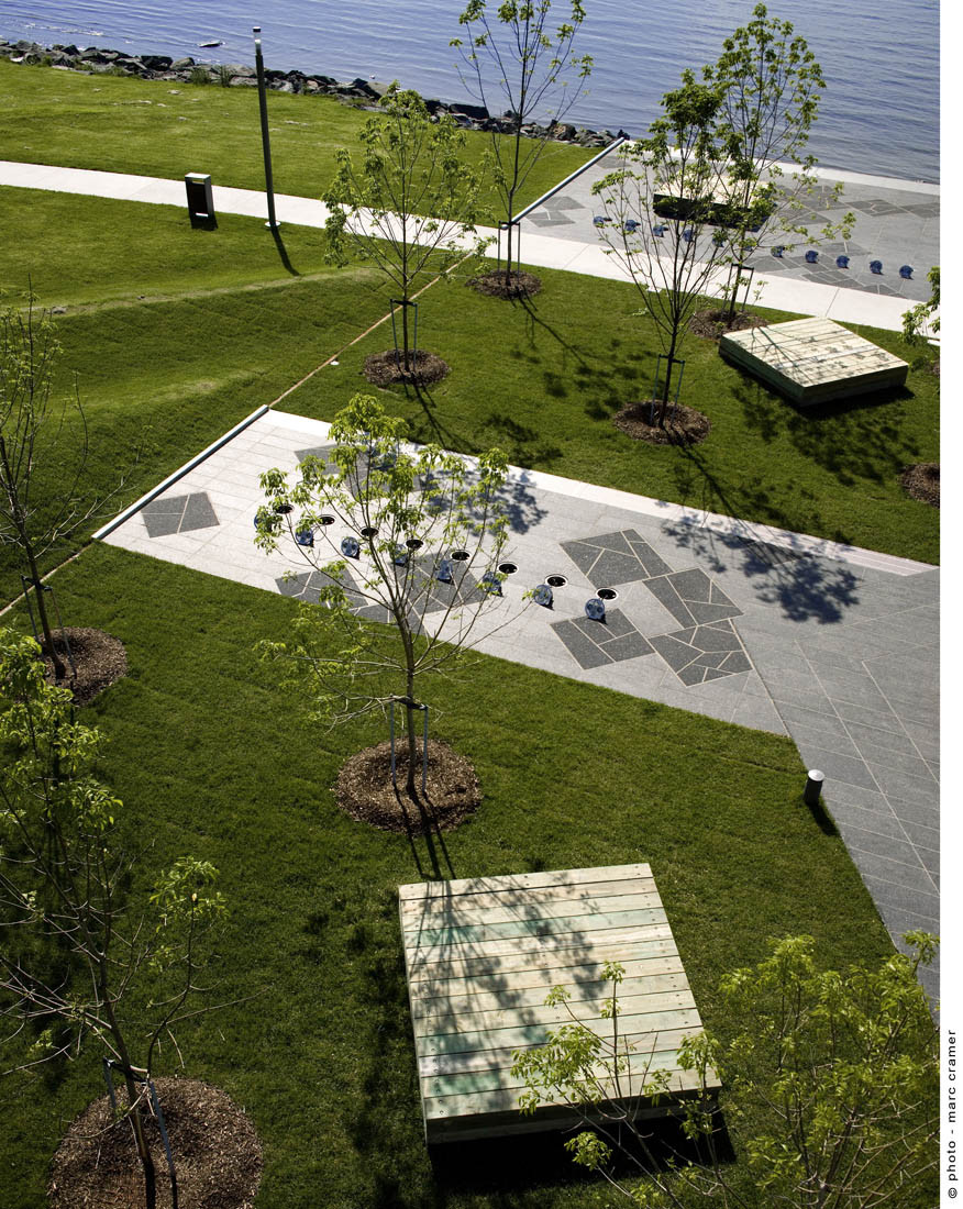 Gallery of promenade samuel de champlain option for Outer space design landscape architects