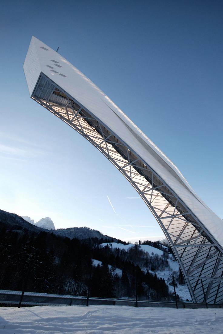 Gallery Of New Olympic Ski Jump In Garmisch Partenkirchen Terrain Loenhart Mayr 3
