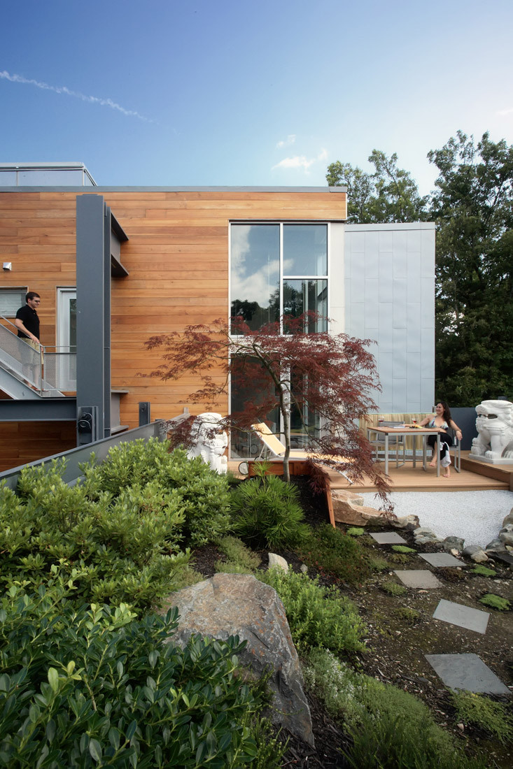 Gallery of big dig house single speed design 5 for Utah home design architects