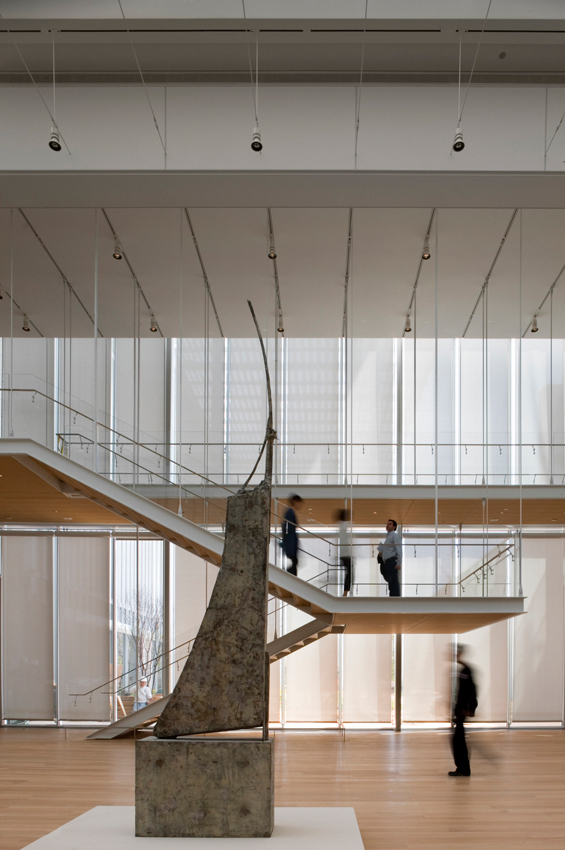 gallery of modern wing at the art institute of chicago renzo piano 4