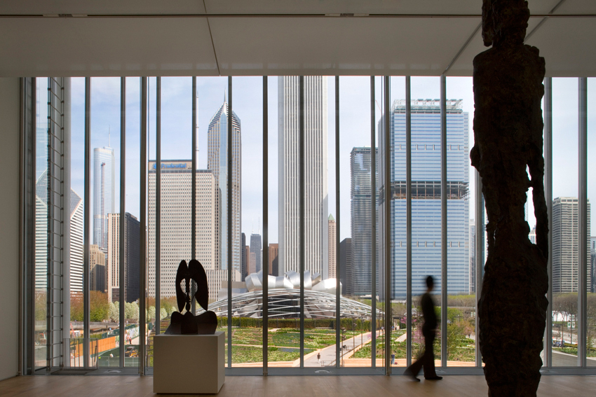 gallery of modern wing at the art institute of chicago renzo piano 5