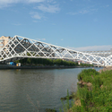 Quingpu Pedestrian Bridge / CA-DESIGN