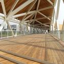 Quingpu Pedestrian Bridge / CA-DESIGN