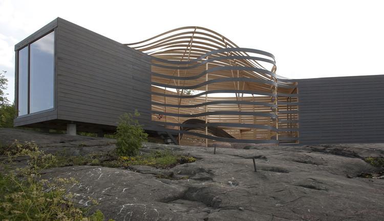 WISA Wooden Design Hotel / Pieta-Linda Auttila, via UPM