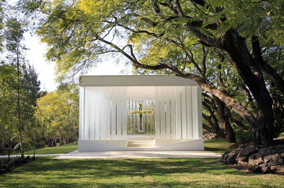 La Estancia Chapel / Bunker Arquitectura, © Megs Inniss & Sebastian Suarez