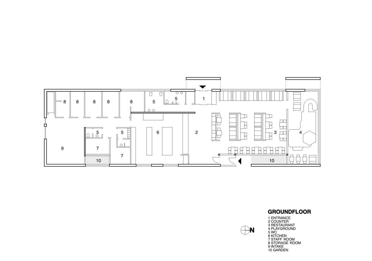Gallery Of Fast Food Restaurant Kfc Pk Arkitektar 11