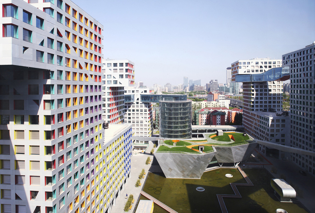 Gallery of linked hybrid steven holl architects 20 for Architecture hybride