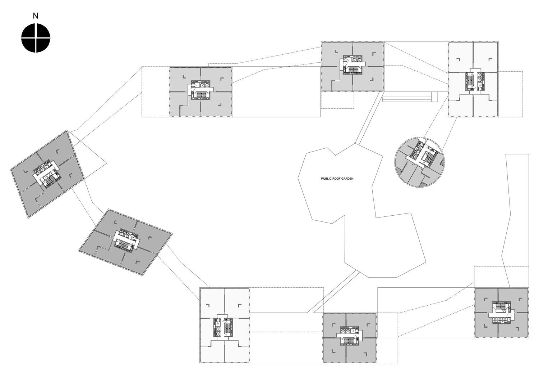 Linked Hybrid Steven Holl Architects