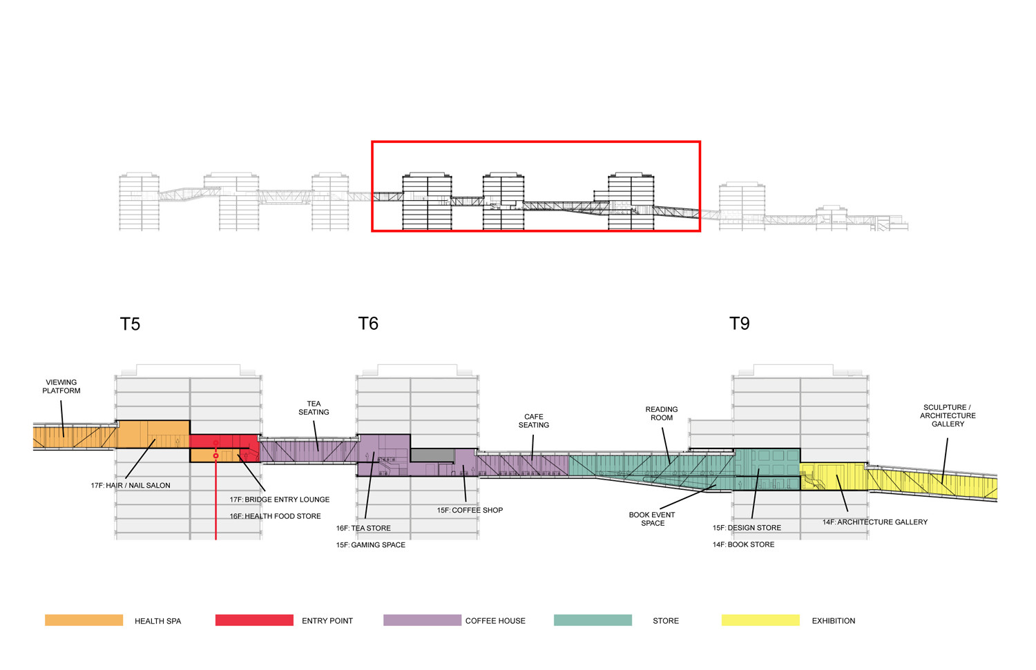Gallery of linked hybrid steven holl architects 43 for Architecture hybride
