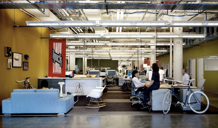 Facebook Office Palo Alto With Archdaily Save This Picture Facebook Offices Oa Studio