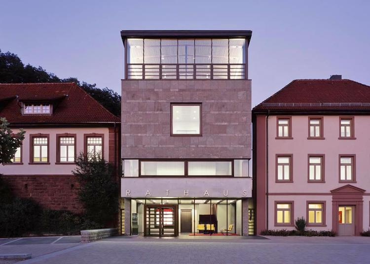 Seckach Town Hall / Ecker Architekten, © Constantin Mayer