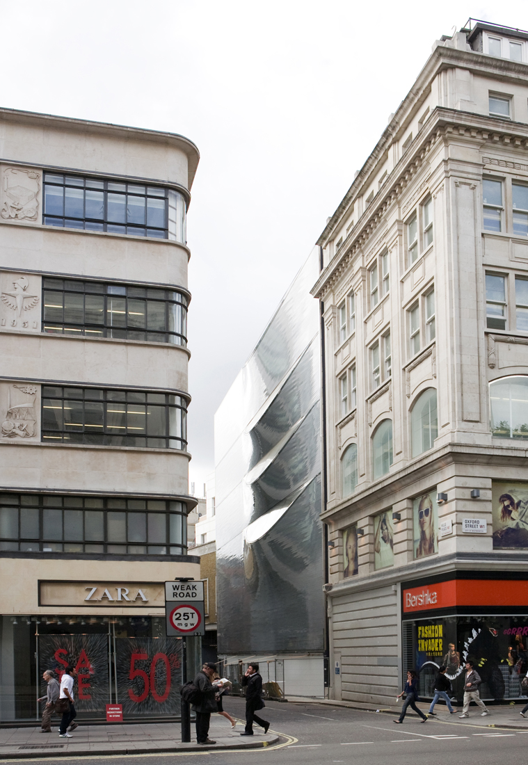 10 Hills Place / Amanda Levete Architects, © Gidon Fuehrer