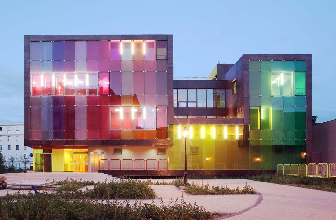 Sports and Leisure Center in Saint-Cloud / KOZ Architectes, © Stephan Lucas