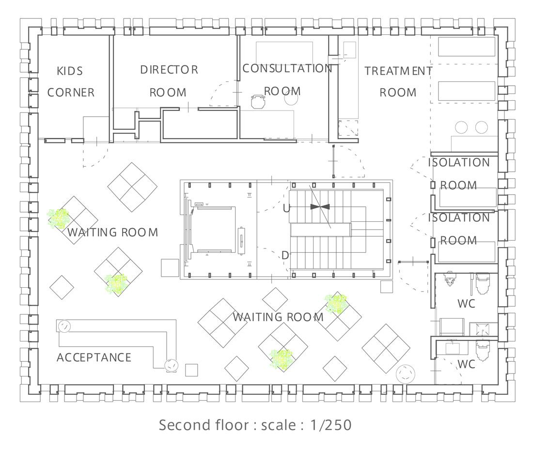 Bedroom Flat Design Plan