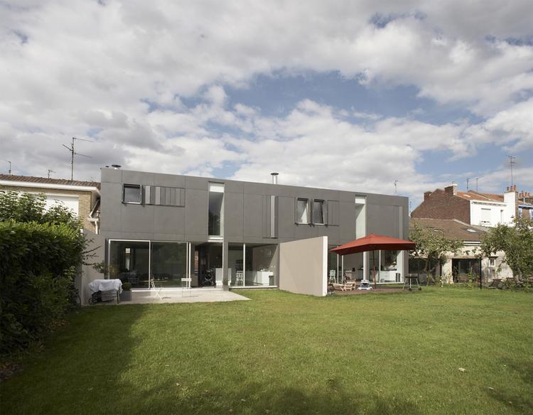Pile ou Face Houses / TANK Architectes, © Pierre Manuel Rouxel