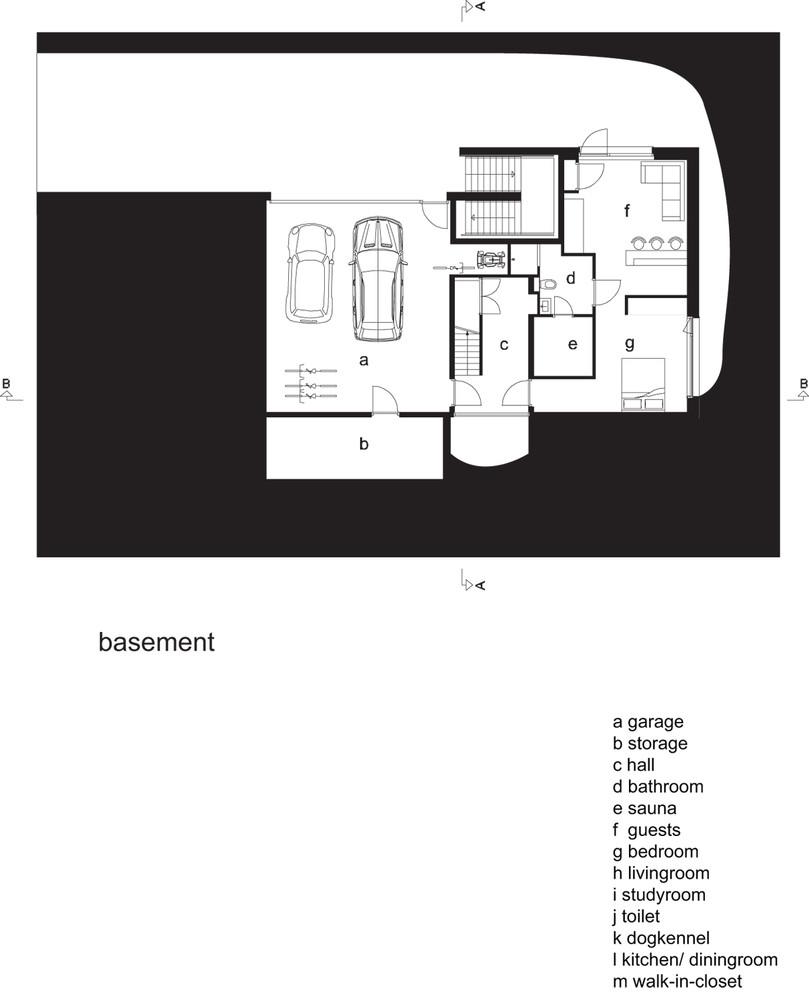 Villa Soest,Plan