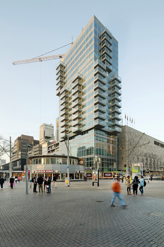 In Progress: B' Tower / Wiel Arets Architects, © Jan Bitter