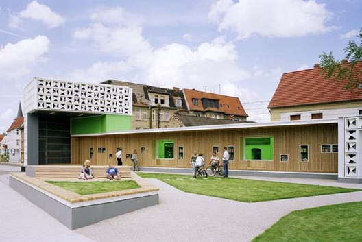Open Air Library / KARO Architekten, © Anja Schlamann
