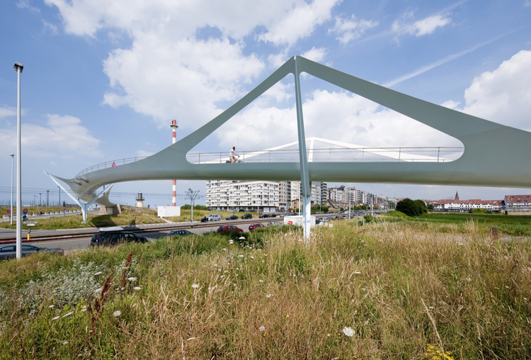 Knokke Footbridge / Ney & Partners, © Daylight