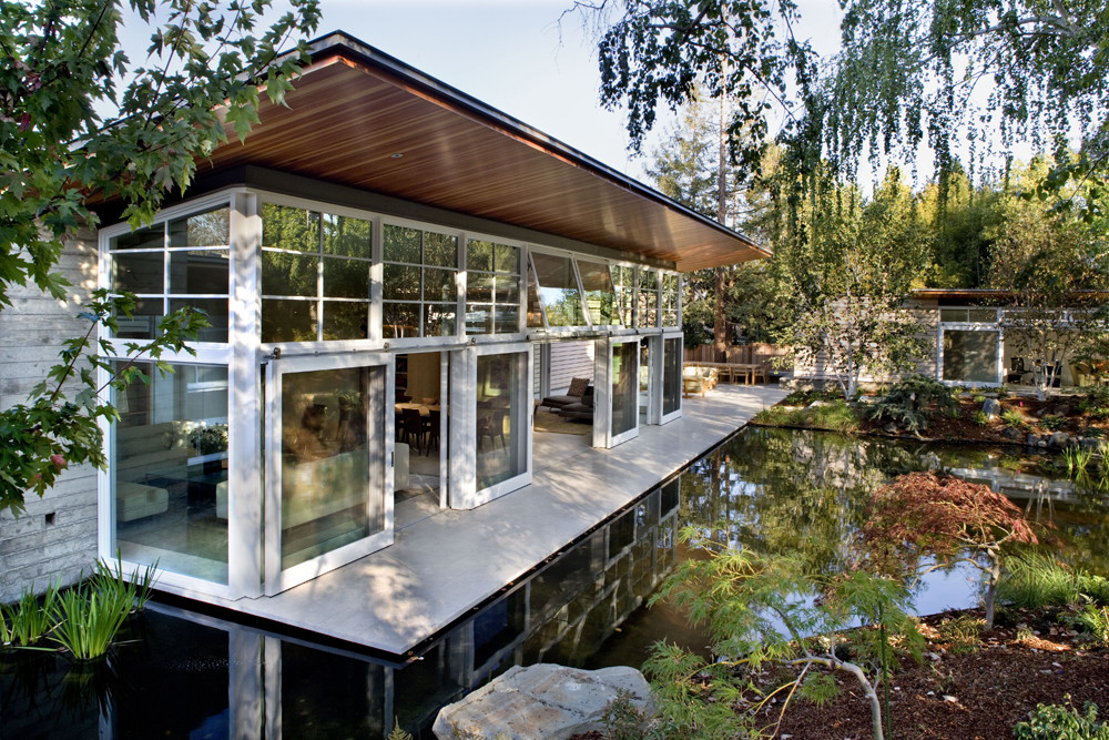 Atherton Residence / Turnbull Griffin Haesloop, © David Wakely