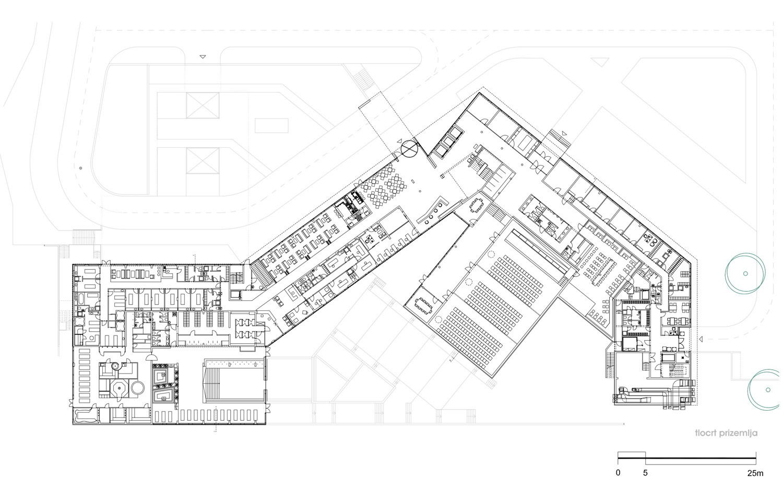 Gallery of spa golfer hotel studio sangrad 11 for Hotel plan design