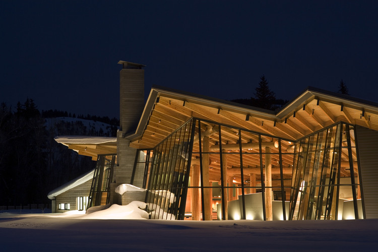 Craig Thomas Discovery and Visitor Center / Bohlin Cywinski Jackson, © BCJ