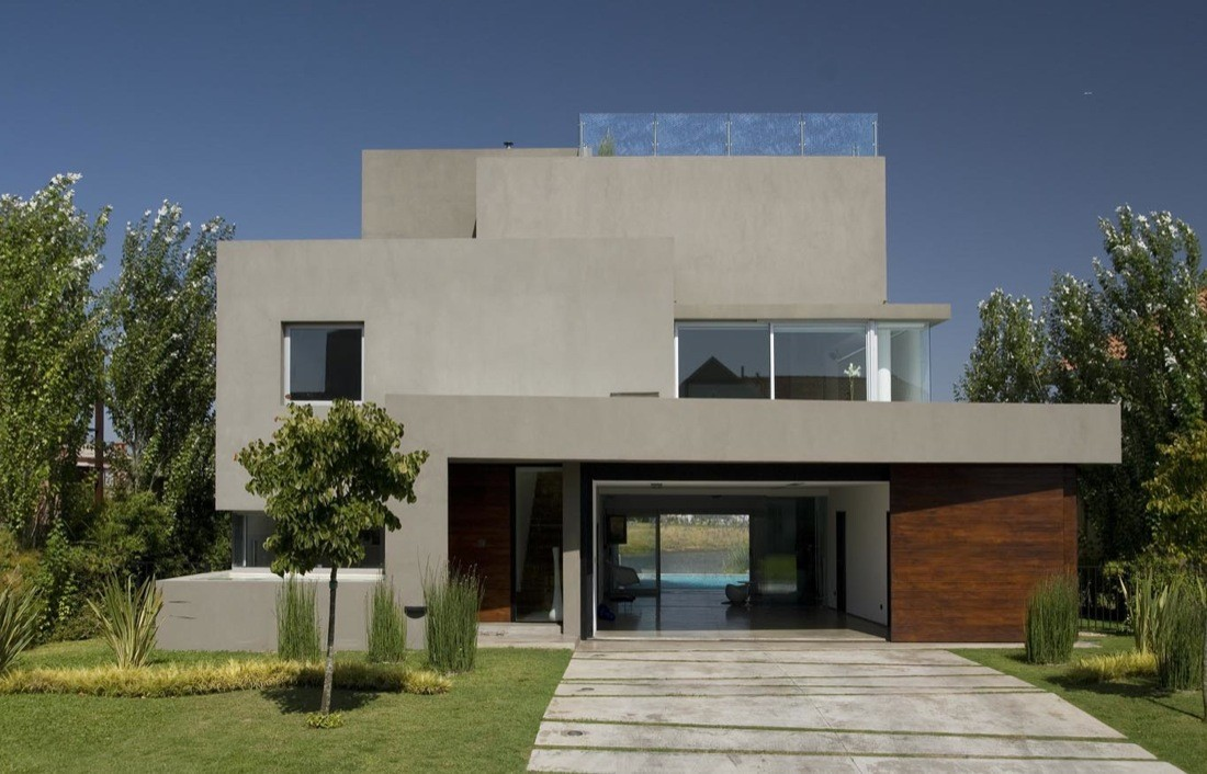 Gallery Of Waterfall House Andres Remy Arquitectos 9
