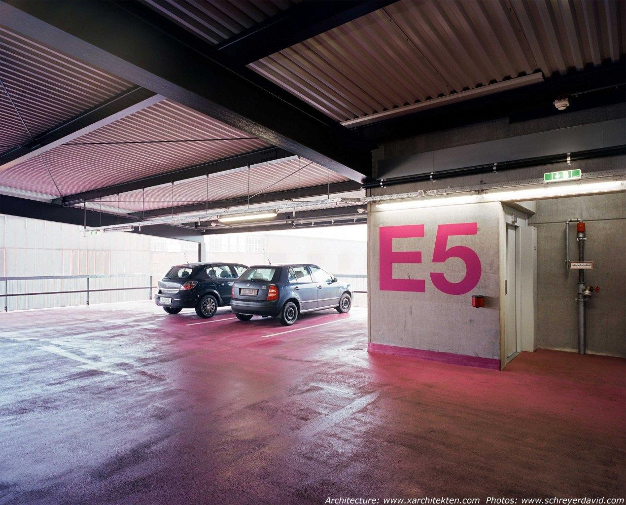 Gallery of multi level parking voestalpine x architekten for Garage est auto talange