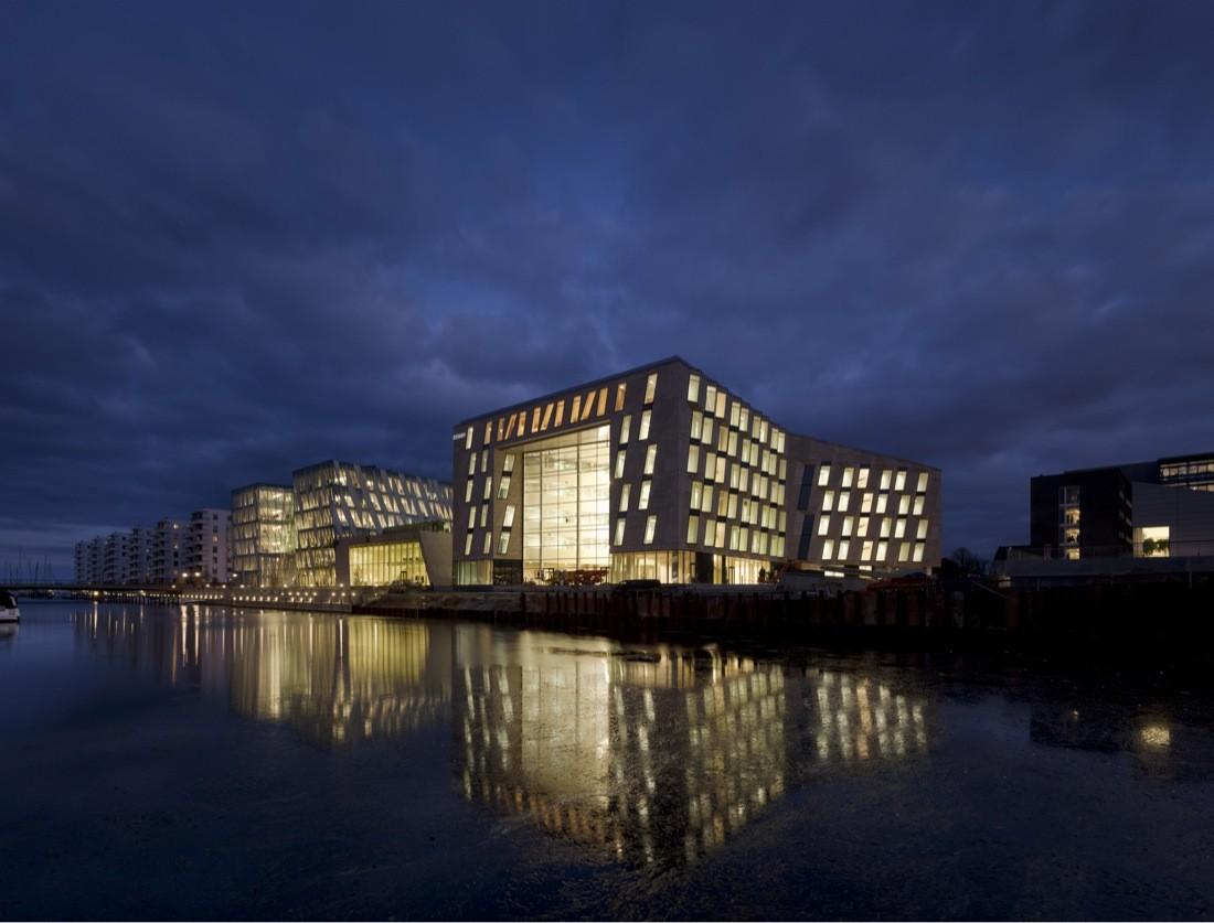 Horten Headquarters / 3XN, © Adam Mørk