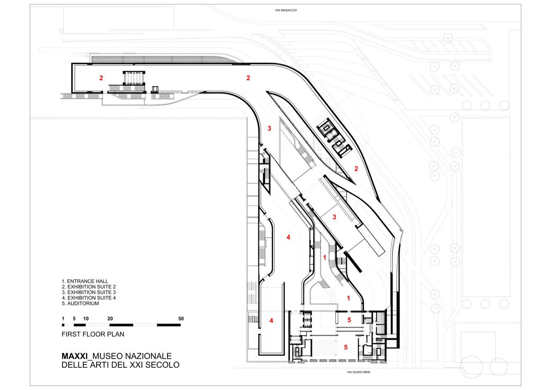 Gallery Of Maxxi Museum Zaha Hadid Architects 19