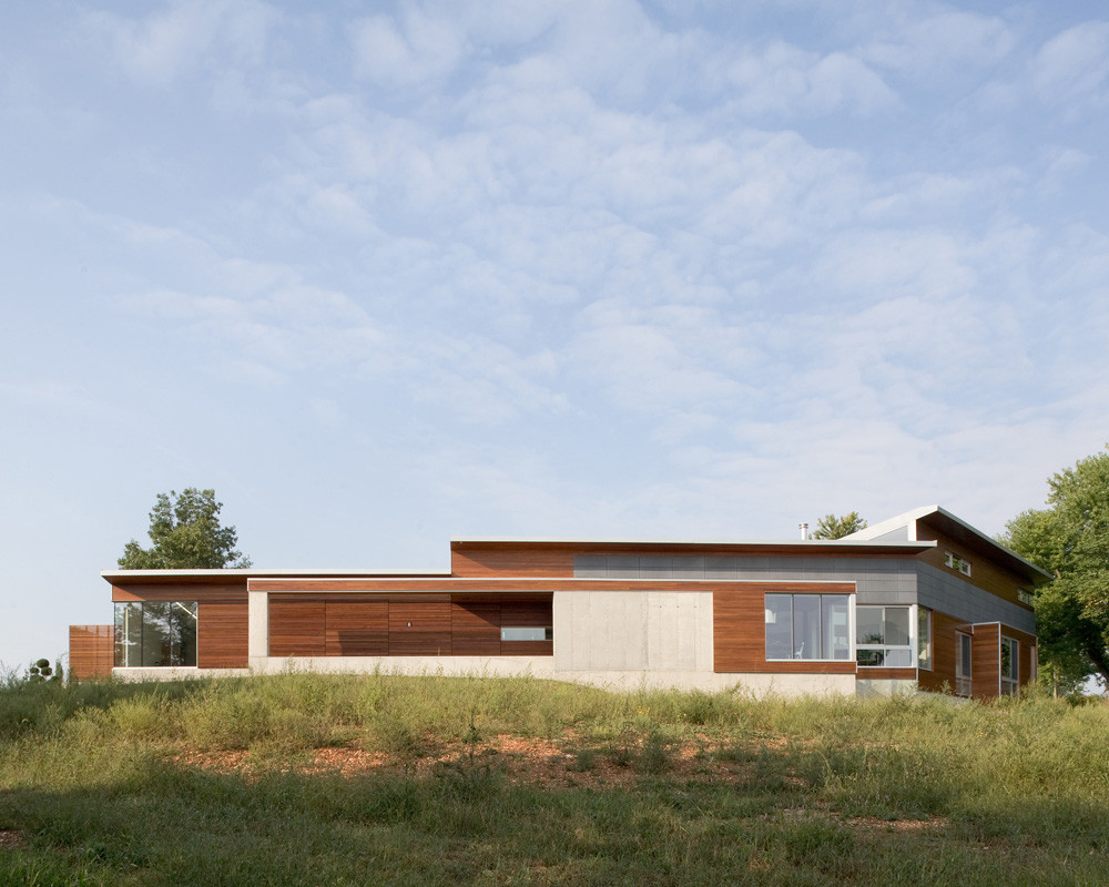 Bent + Sliced Residence / Hufft Projects, © Mike Sinclair