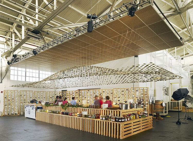 Slow Food / Sagan Piechota Architecture, © Matthew Millman