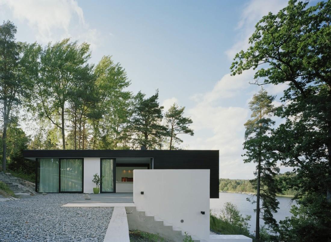 Casa barone widjedal racki bergerhoff archdaily for Casas minimalistas planos