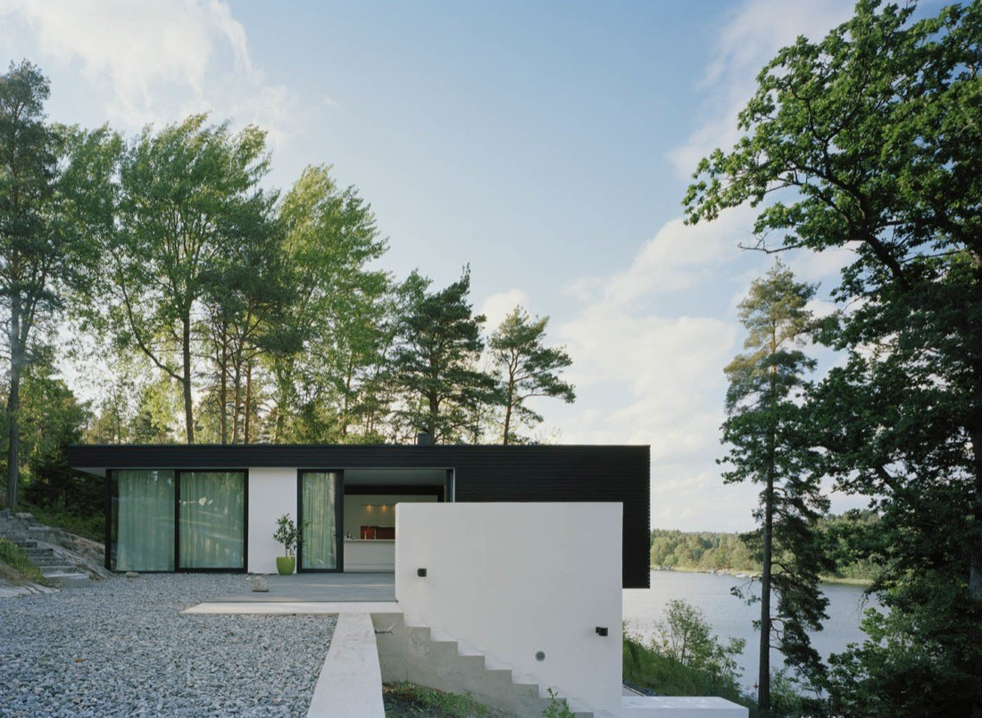 Casa barone widjedal racki bergerhoff archdaily - Casas pequenas de campo ...