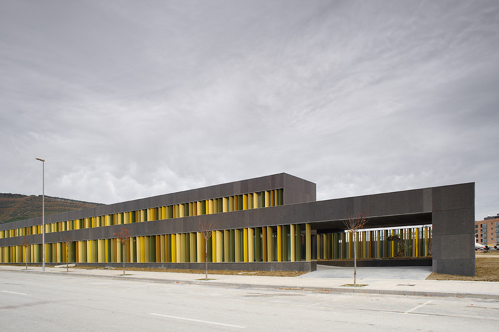 Nursery School in Pamplona / Larraz Arquitectos, © Iñaki Bergera