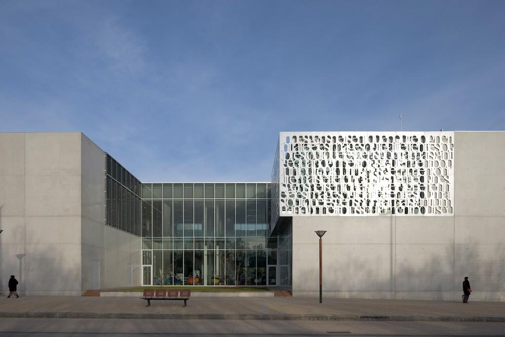 Fougères Biblioteque / Tétrarc Architects, © Stéphane Chalmeau