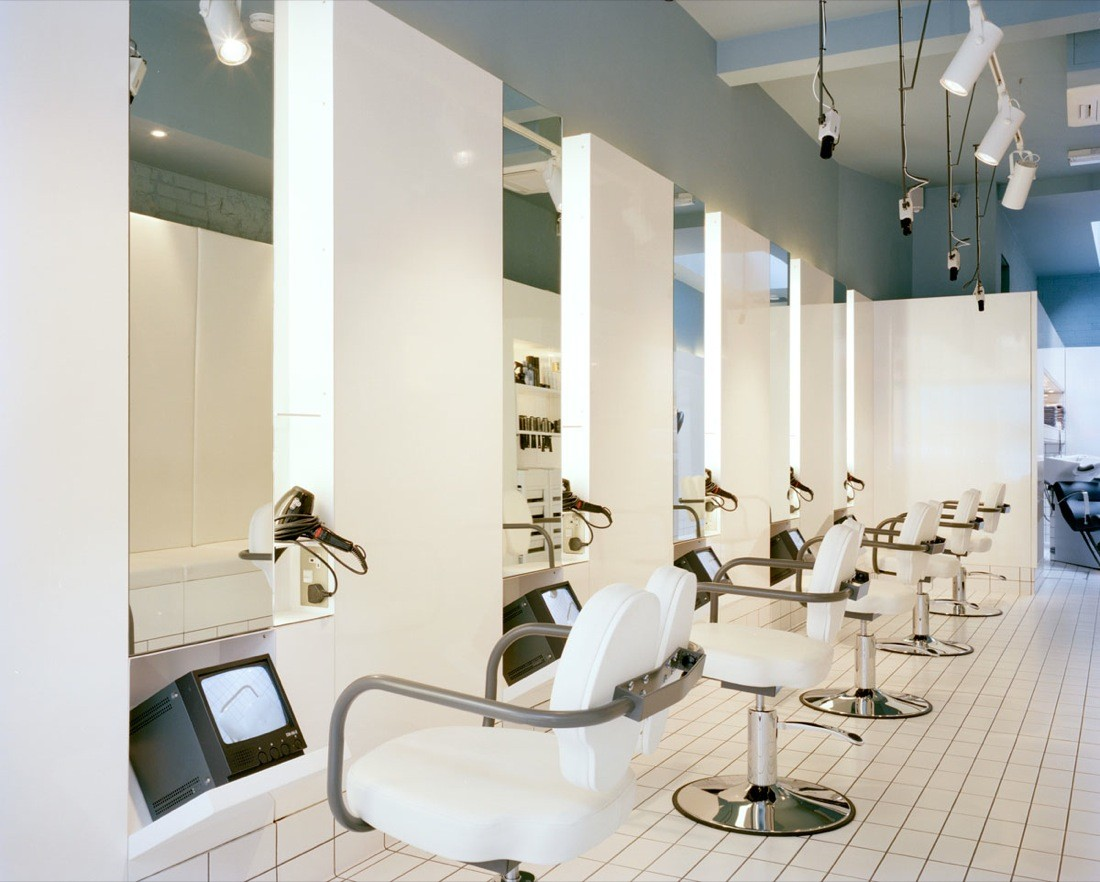 The Klinik Hair Salon Block Architecture Archdaily