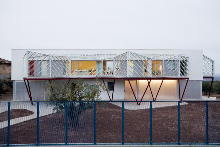 Double House / Langarita Navarro Arquitectos, © Luis Diaz Diaz