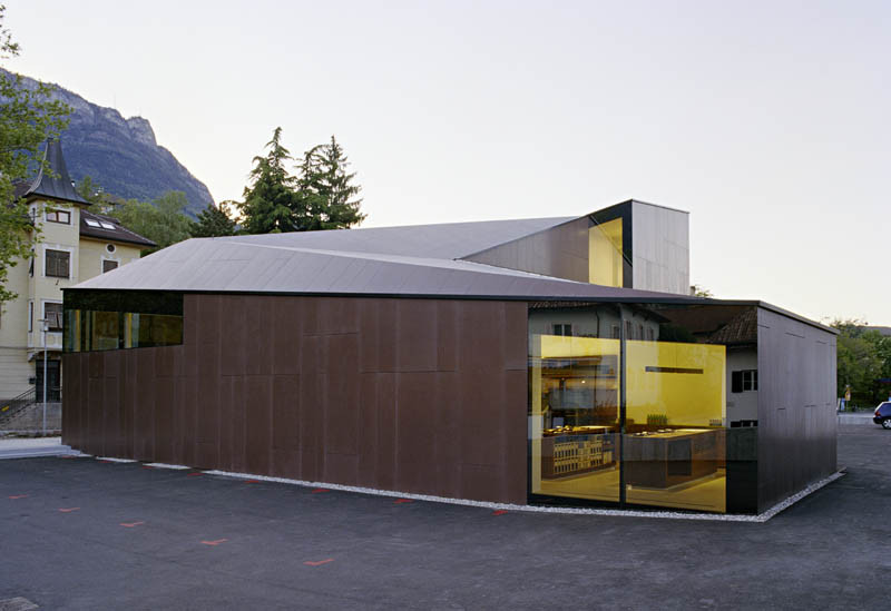 Winecenter Kaltern / feld72, Courtesy of  feld72