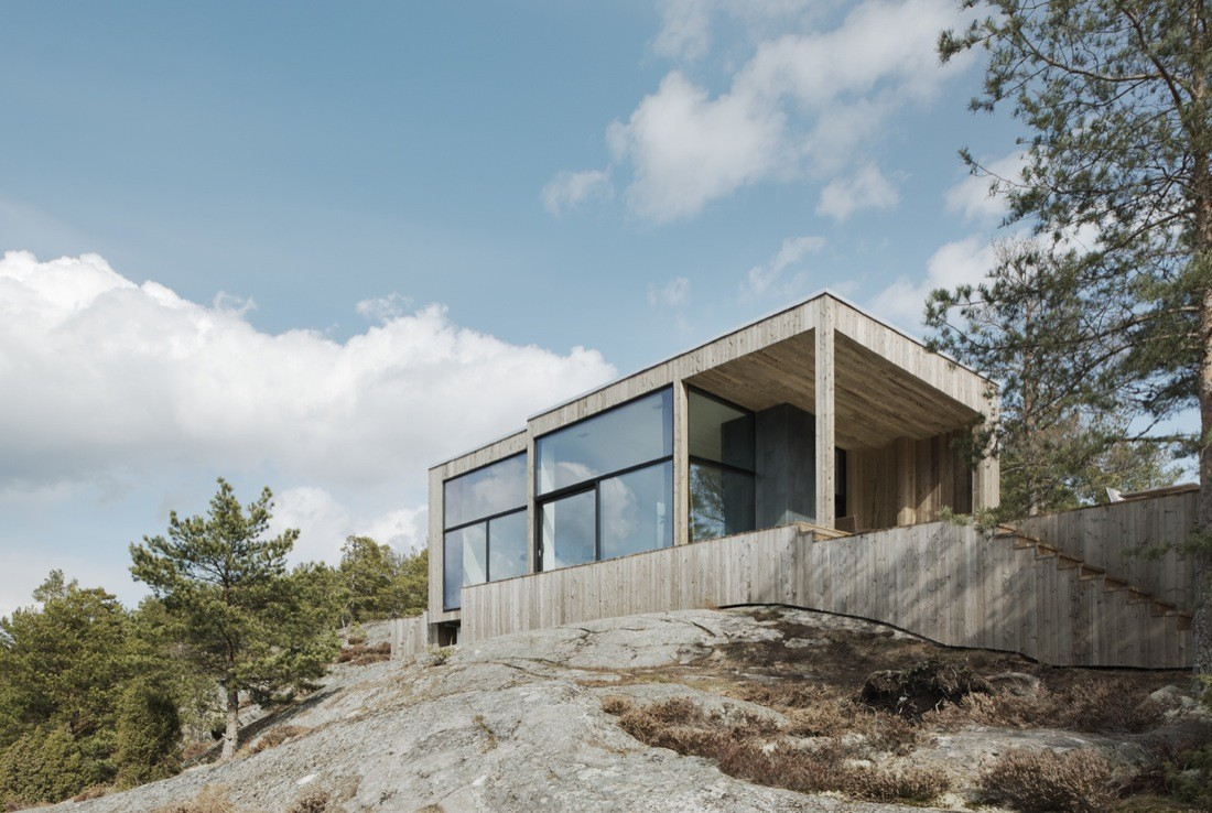 Gallery Of House On A Cliff Petra Gipp Arkitektur