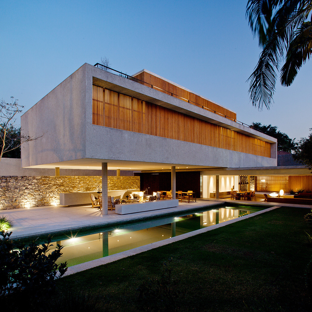 Modern House Designs Elevated: Gallery Of House 6 / Marcio Kogan