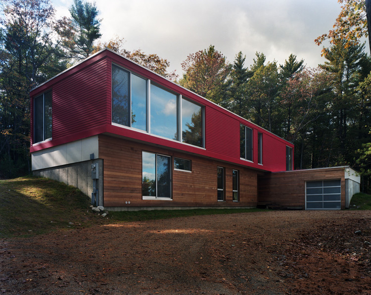 Moose Hill House / Utile, Inc, © Robert Knight