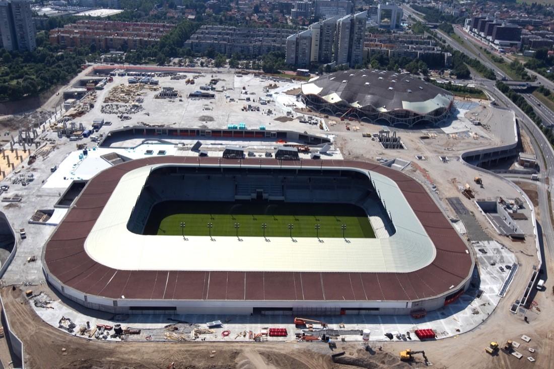 Football Stadium of Sports Park Stožice / SADAR + VUGA, © Blaz Budja