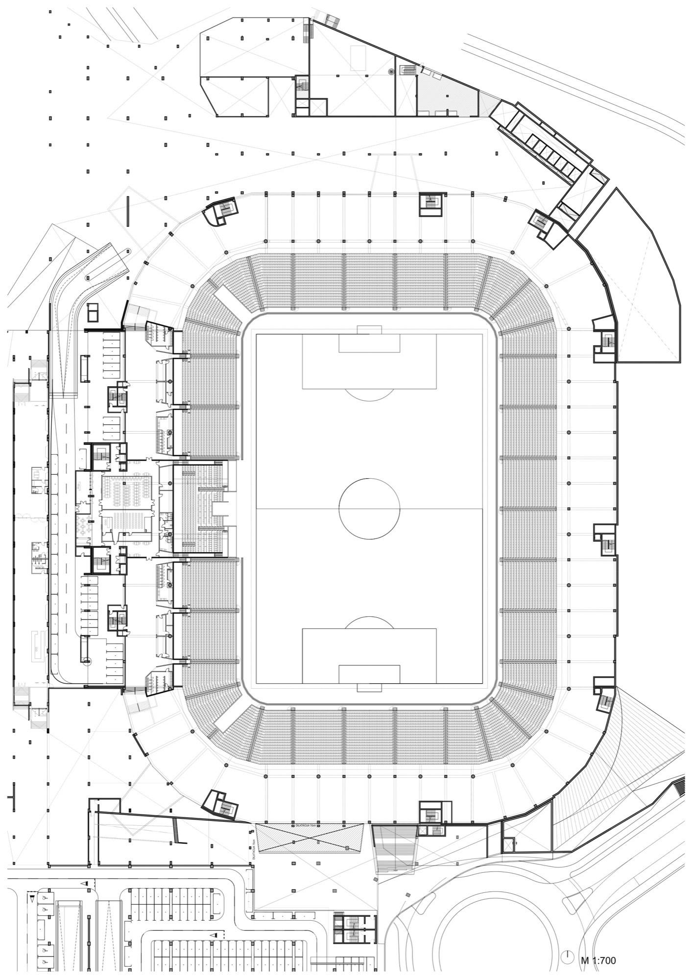 Gallery Of Football Stadium Of Sports Park Stožice Sadar