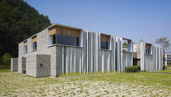 Hanil Visitors Center & Guest House / BCHO Architects