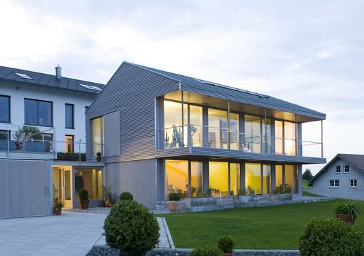 Haus ungar hoffmann architekt archdaily - Hoffmann architekt ...
