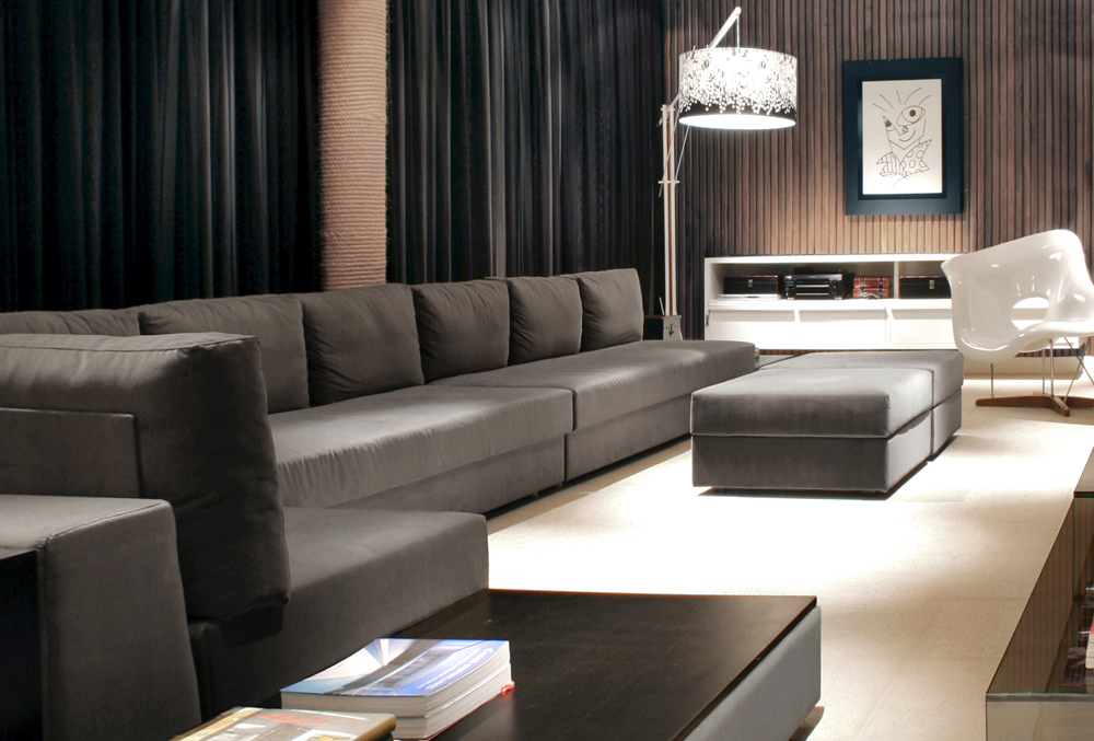 modern living room couches gallery of bl house studio guilherme torres 5 14986